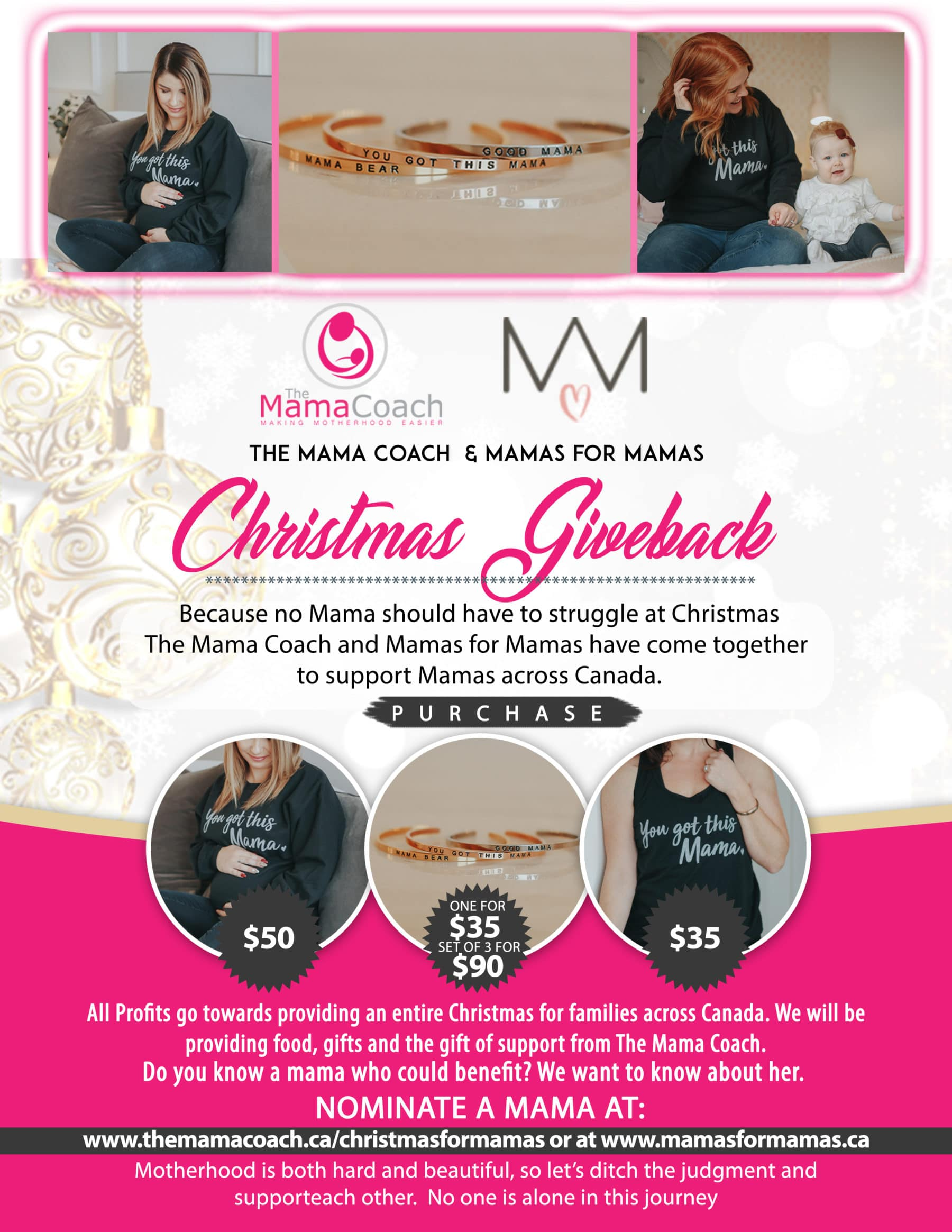 Christmas Giveback infographic